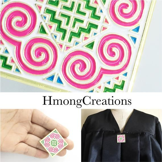 PIN - hmong jewelry - beautiful colorful - hmong elephant foot