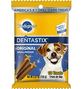 Pedigree Dog Treats Original Flavor Dental Care Chews