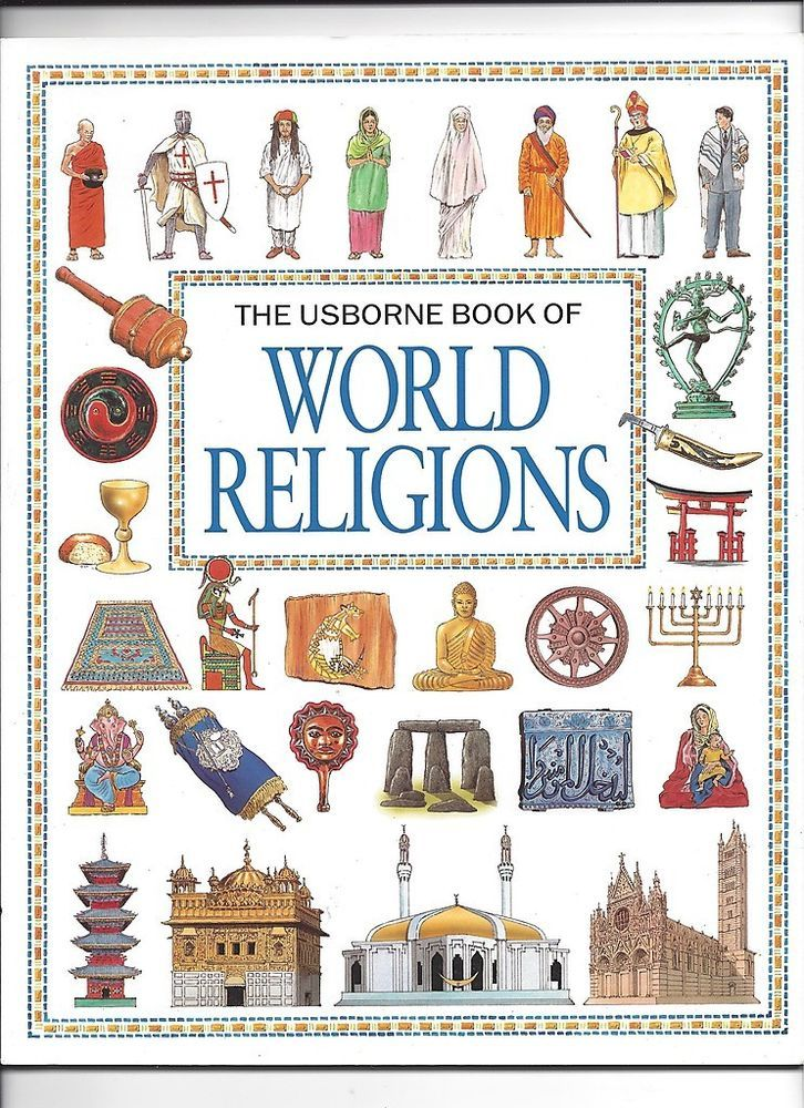 USBORNE BOOK OF WORLD RELIGIONS For Kids Book Wishlist - World religions for kids