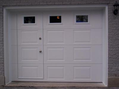 Amazing Garage Door With Door And Windows