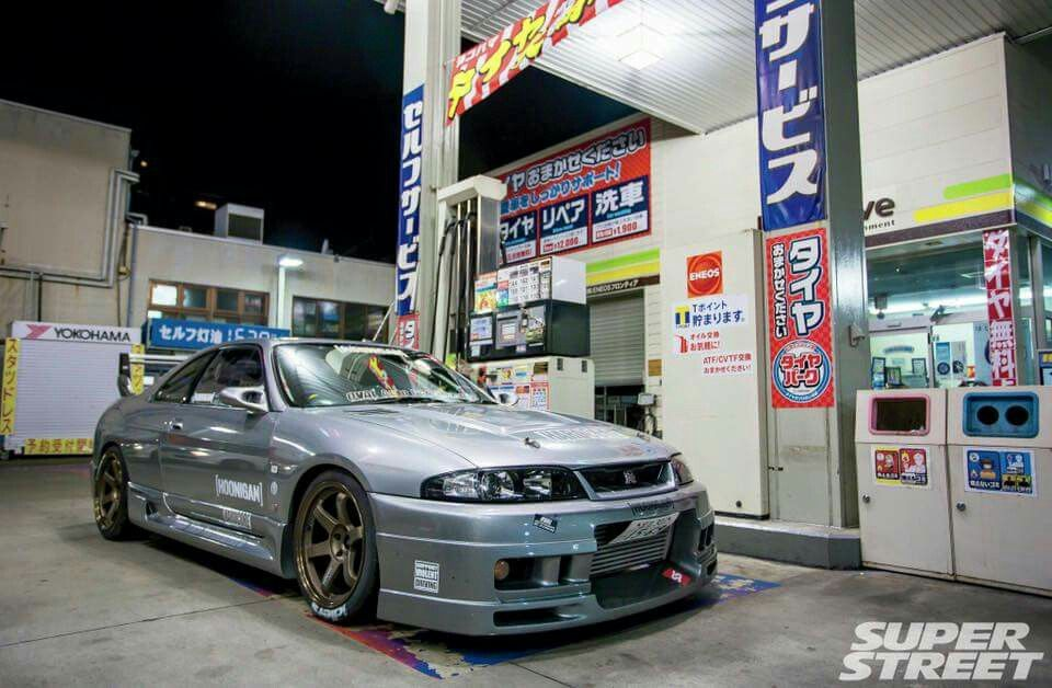 Nissan Skyline R33 Superstreet Hot Import Tuning Pinterest