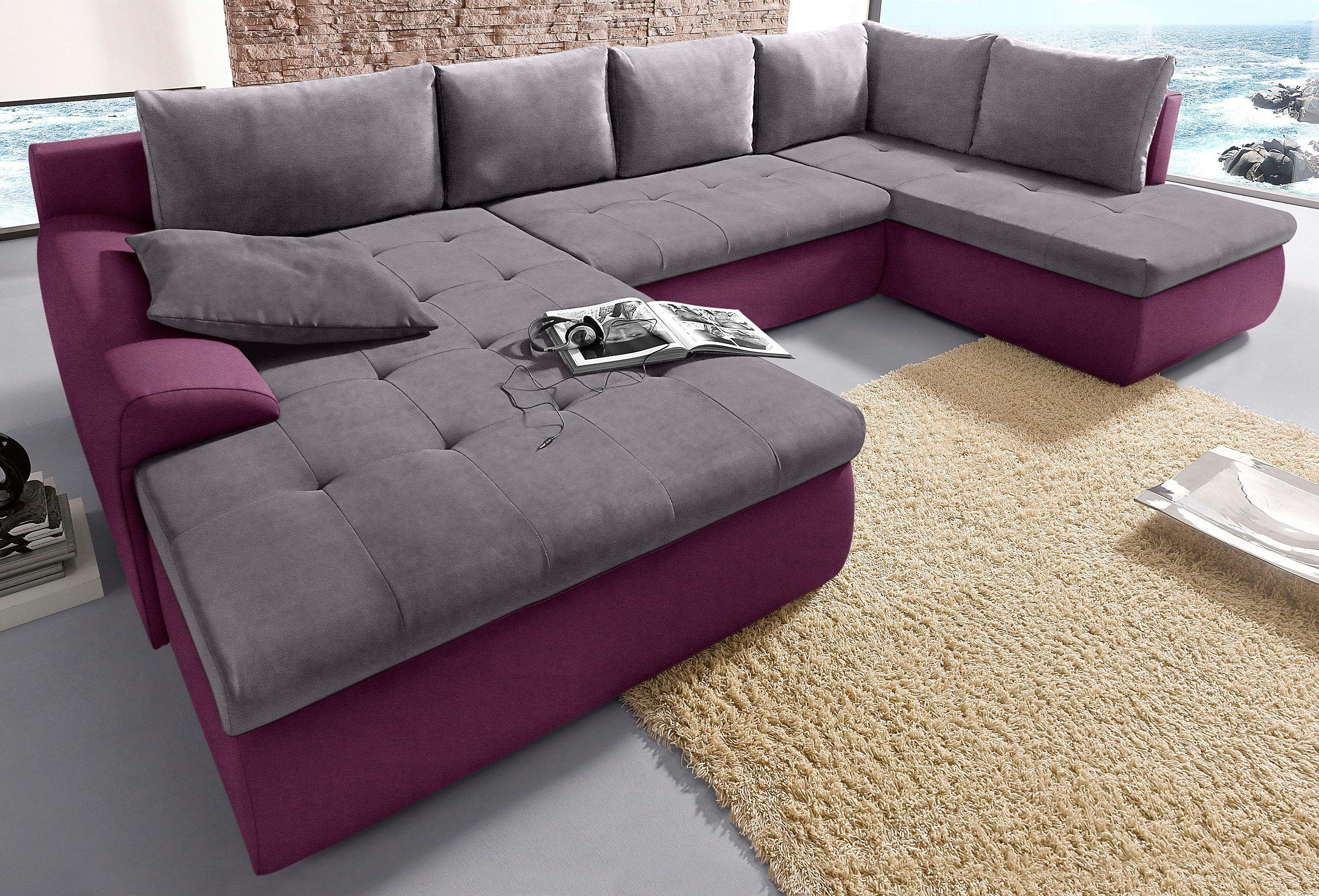 Sit&more Wohnlandschaft Mit Bettfunktion Pin By Luiz Antonio On Sofás Furniture Cozy Couch Sofa