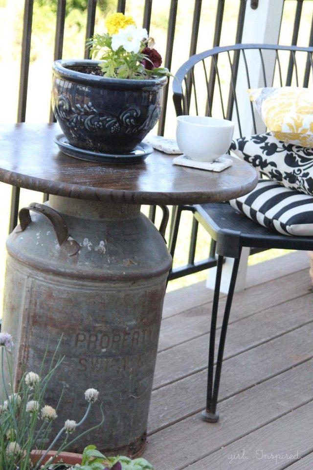 6 id es de r cup pour une d co campagne diy mobilier. Black Bedroom Furniture Sets. Home Design Ideas