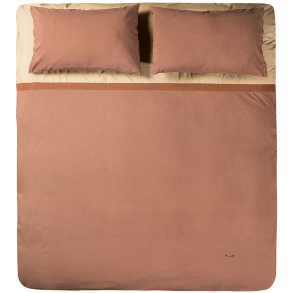 Alessandro Di Marco Duvet Cover Set - Brown ($980) ❤ liked on ...