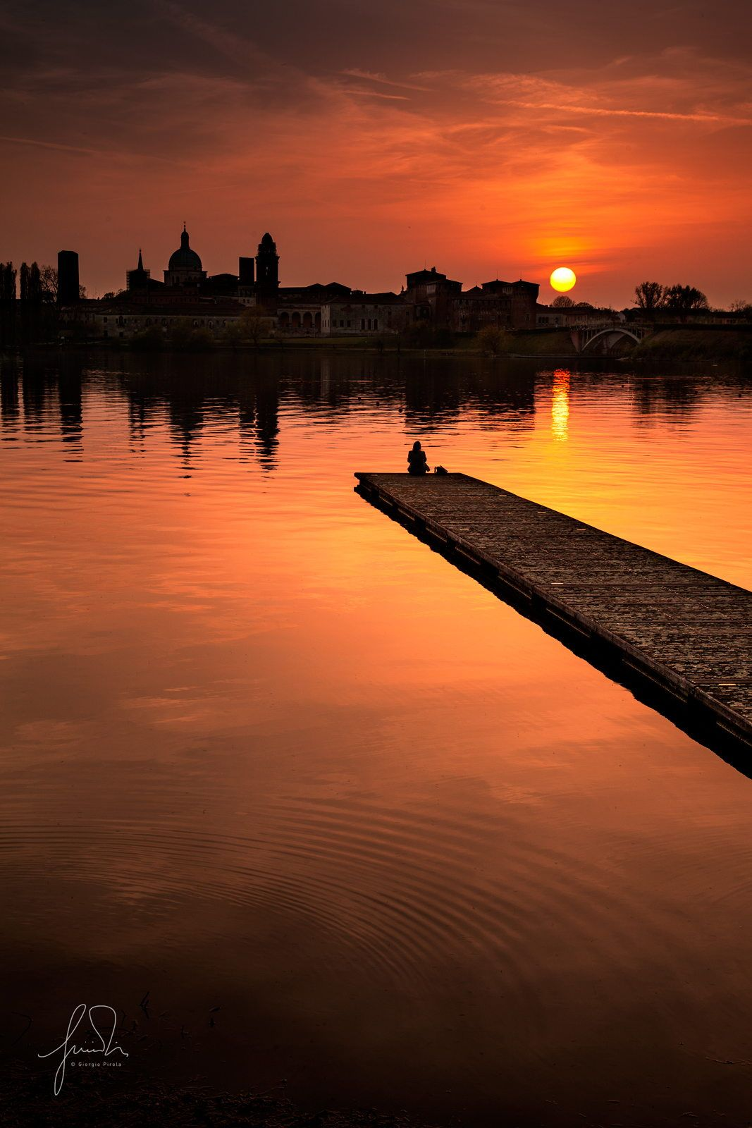 Mantova sunset by Giorgio Pirola on 500px