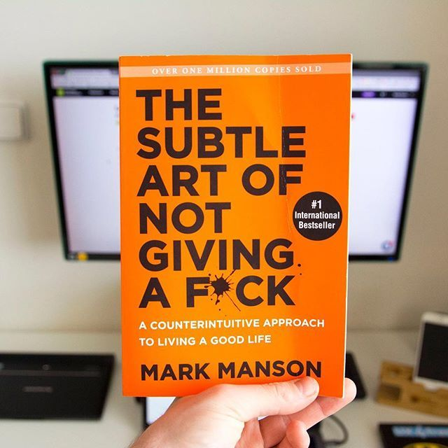 Guys this book...IT'S F#CKING AMAZING!  - The subtle art of not giving a f#ck is the most straightforward book I have ever read  - You should open freakin' Amazon and but it right now. I mean RIGHT RIGHT RIGHT NOW!  - I could totally recommend it!  . . . . . . #designyourworkspace #productdesign #ui #ux #webdesigner #webdesign #uxdesign #userinterface #productdesigner #designlife #workspace #workplace #brno #desktop #workdesk #macbook #macbookpro #visualdesigner #desksetup #work…