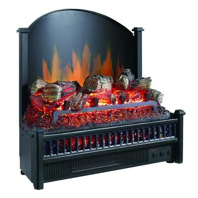 Hampton Bay Electric Log Insert With Heater Home Depot Canada Electric Fireplace Logs Electric Fireplace Electric Fireplace Insert