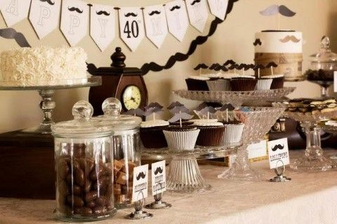 Men 39 s party ideas 40th birthday party ideas best for 40th birthday party decoration ideas for men