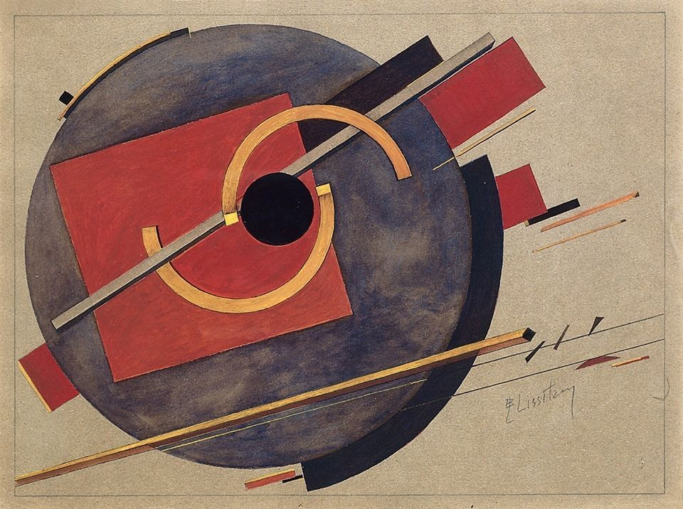 El Lissitzky. It's a preliminary sketch for a poster.