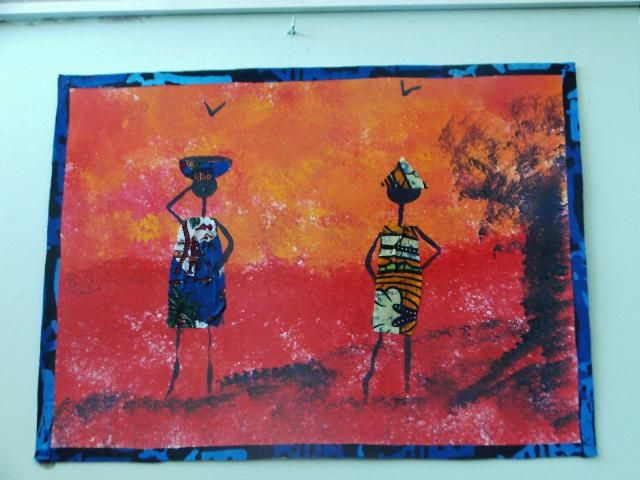 tableau africain maternelle