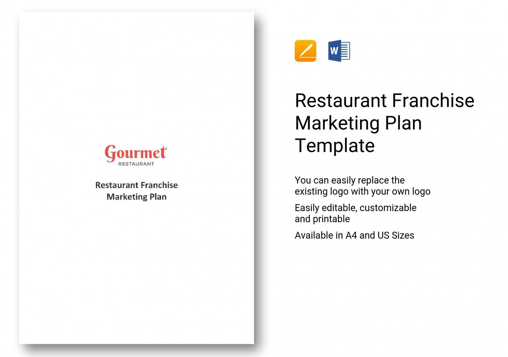 this is the restaurant franchise marketing plan template