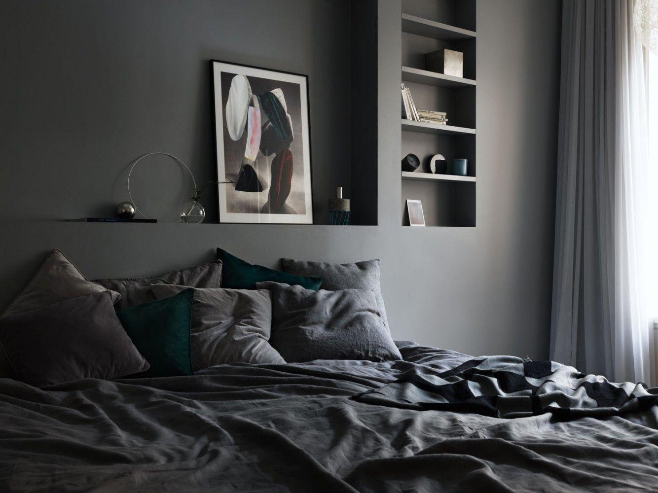10x de mooiste donkere slaapkamers van pinterest | commercial, Deco ideeën