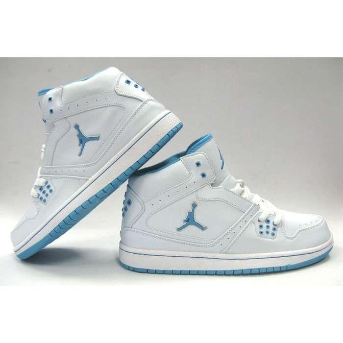 cool baby girl shoes jordans hd Nike Air Jordan 1 Womens White Light Blue  Buy for cheap price 103472abaa