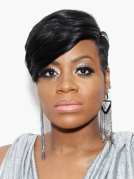 Fantasia Hairstyles New Fantasia Barrino Short Hair With Side Fringe  Google Search