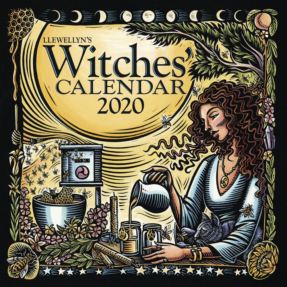 Since 1998 Llewellyn S Witches Calendar Has Been A Favorite Way