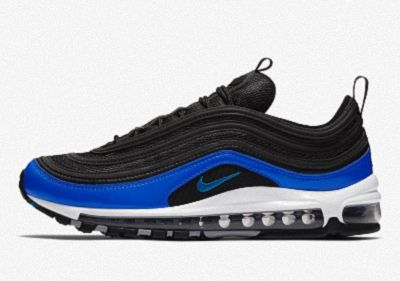 "2018 Mens Nike Air Max 97 ""Binary Blue"" BlackBlue Nebula Wolf Grey White"