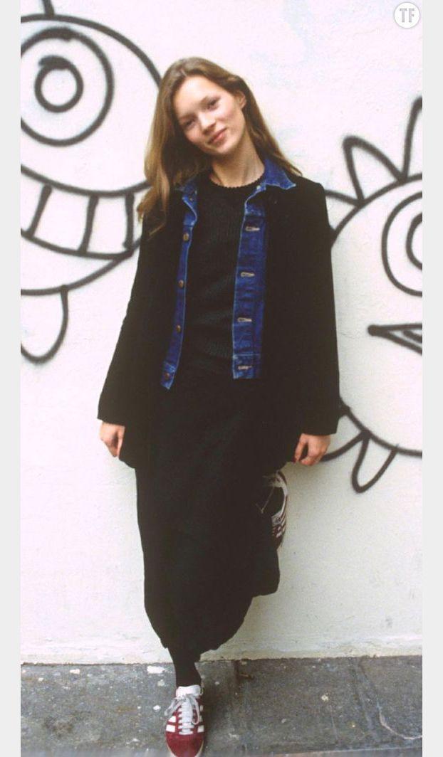7ec0e559947218 Sneakers outfit - Adidas Gazelle vintage x Kate Moss