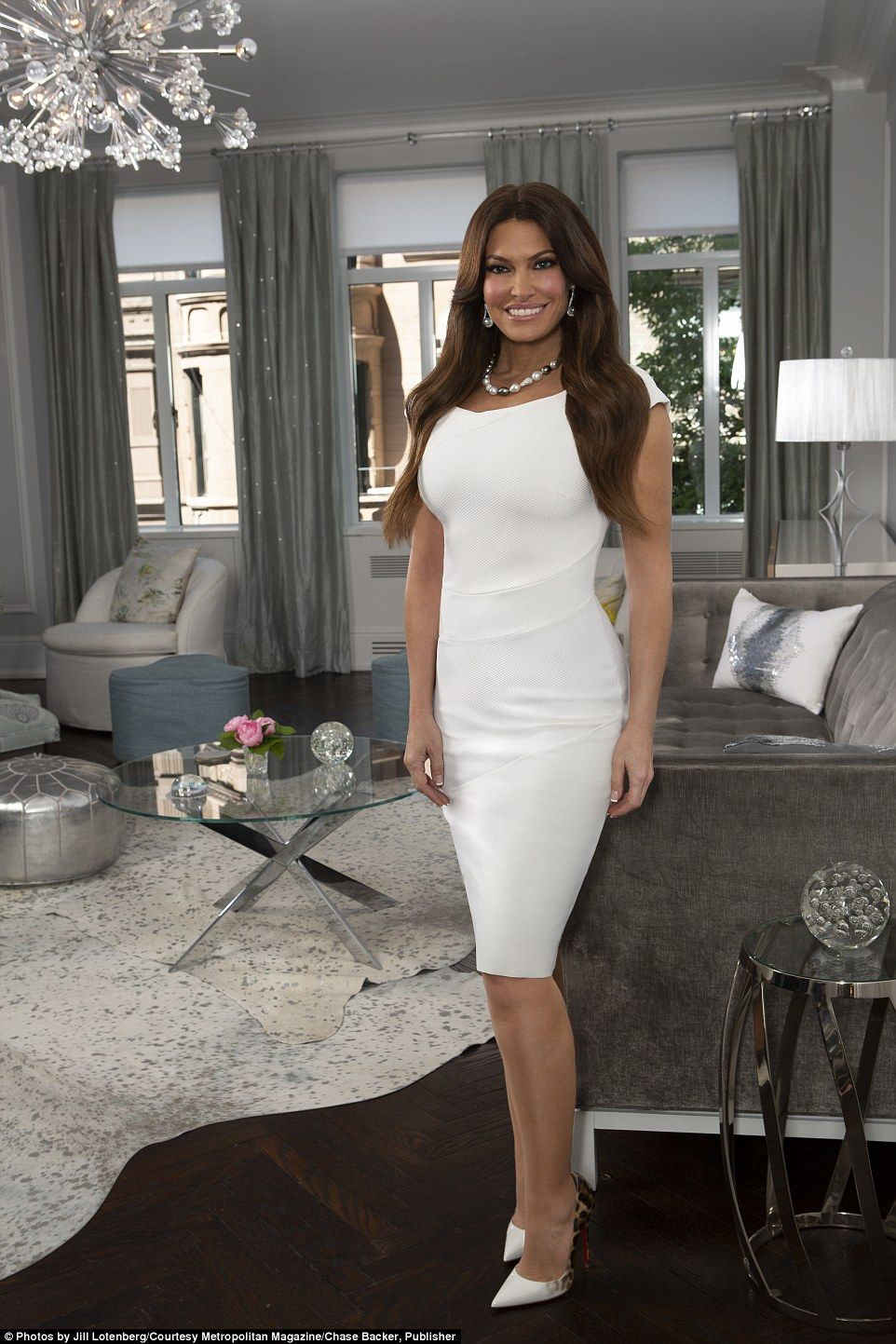 Kimberly Guilfoyle: How Kimberly Guilfoyle transformed her $3.4million Manhattan apartment.  A profile on t...