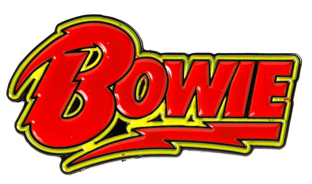 David Bowie Logo Enamel Pin David Bowie Artwork David Bowie Enamel Pins