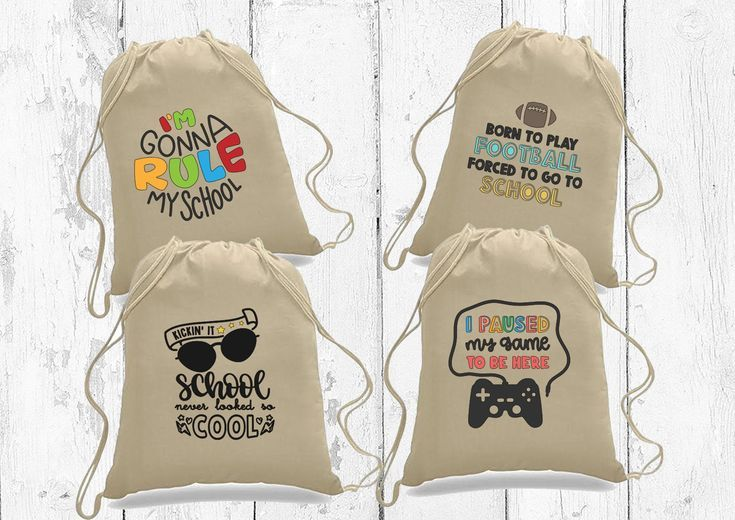 Back to school gift. Kids back to school drawstring backpack. Backpack gift for student.First day of school gift. Personalized school gift #firstdayofschoolhairstyles