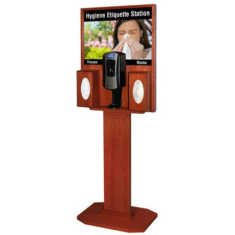 Wood Purell Hand Sanitizer Dispenser Stand With Images Hand
