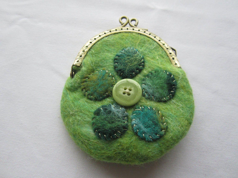 Pursewalletcoin purse hand felted flower design lovely gift pursewalletcoin purse hand felted flower design lovely gift negle Images