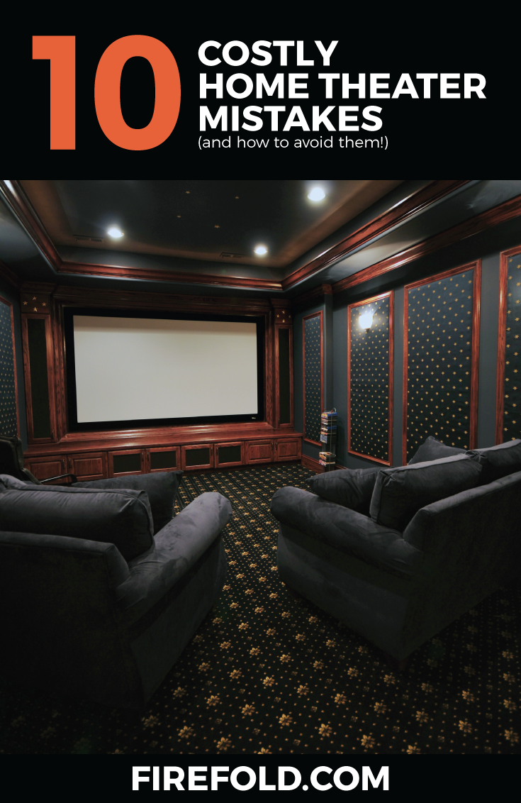 10 Mistakes to Avoid When Building a Home Theater System | Pinterest ...