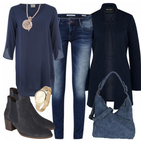Photo of Freizeit Outfits: IChooseBlue bei FrauenOutfits.ch