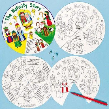 825f8f74aa2 Nativity Story Wheels Nativity Crafts, Christmas Nativity, A Christmas  Story, Christmas Crafts For