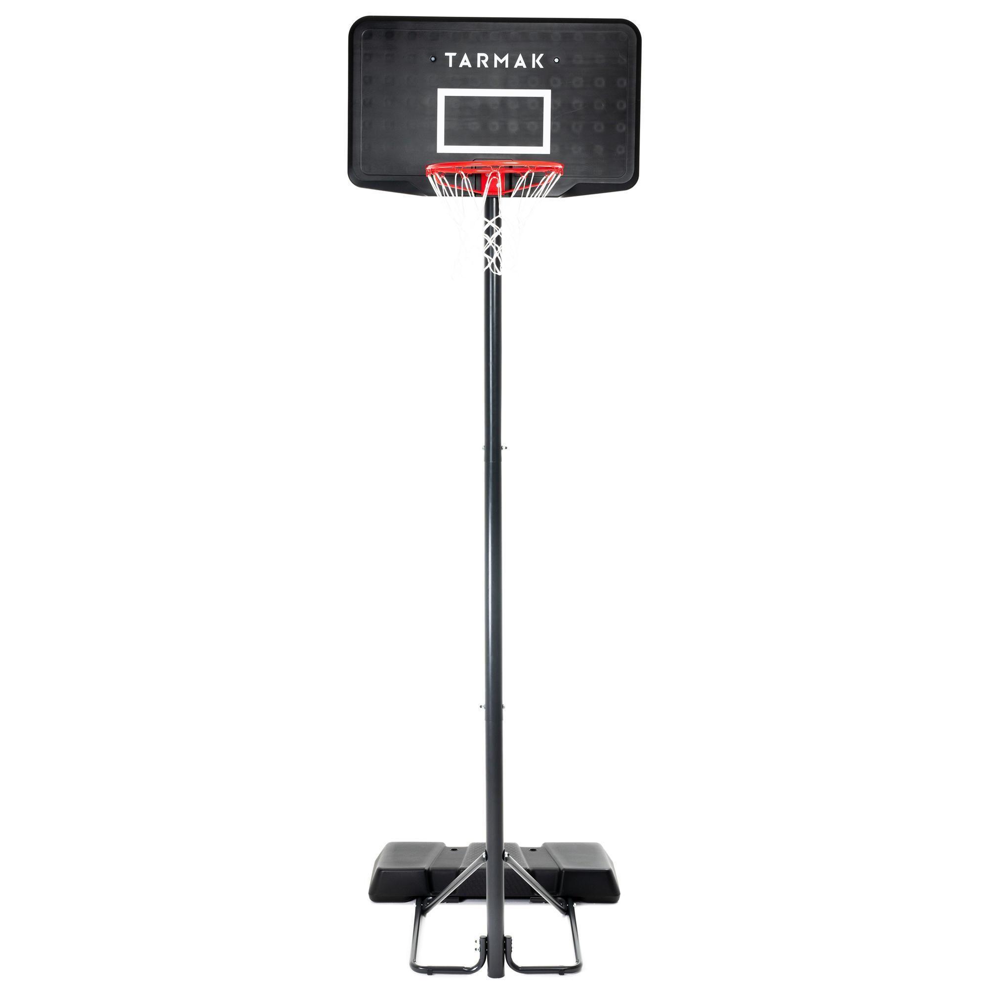 Der Basketballkorb B100 Tarmak Ist Optimal Anfänger Geeignet Es Können 5 Spielhöhen Eingestel Decathlon Tarmak Campin In 2020 Basketballkorb Basketball Zehnkampf