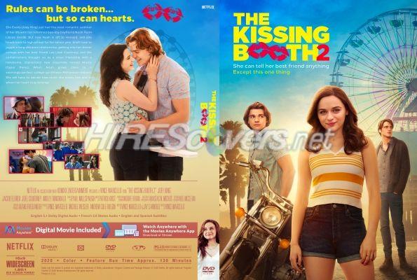 Kissing Booth 2 The 2020 Custom Dvd Cover Custom Dvd Dvd Label Dvd Covers
