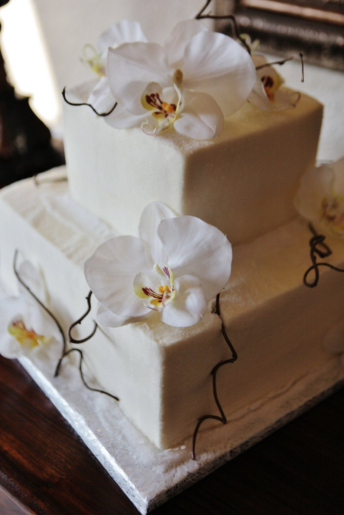 Sugar orchid cake by just desserts flower cakes pinterest