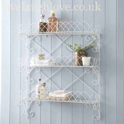 Fancy Wirework 3 Tier Shelf Bookcases/Shelves Pinterest