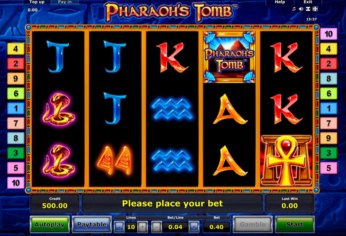 Spielautomat treasure tomb kostenlos online