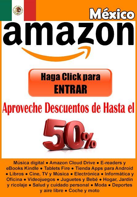 http://WWW.AMA.ZONA-LATINOAMERICA.com/mexico/  Te presentamos con los MEJORES DESCUENTOS en todas tus marcas preferidas en Mexico. Somos Expertos para encontrar Ofertas en Amazon.