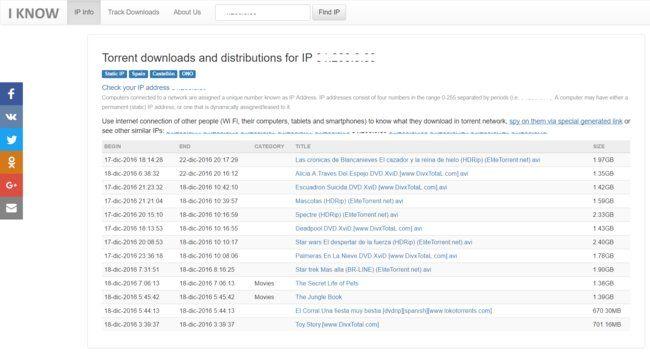 """""""Sé lo que descargas en BitTorrent"""" la web que te dice lo que se han bajando tus vecinos  http://bit.ly/2ipZHMv http://bit.ly/2hSIQF9 #CPMX8 Quiriarte.com"""