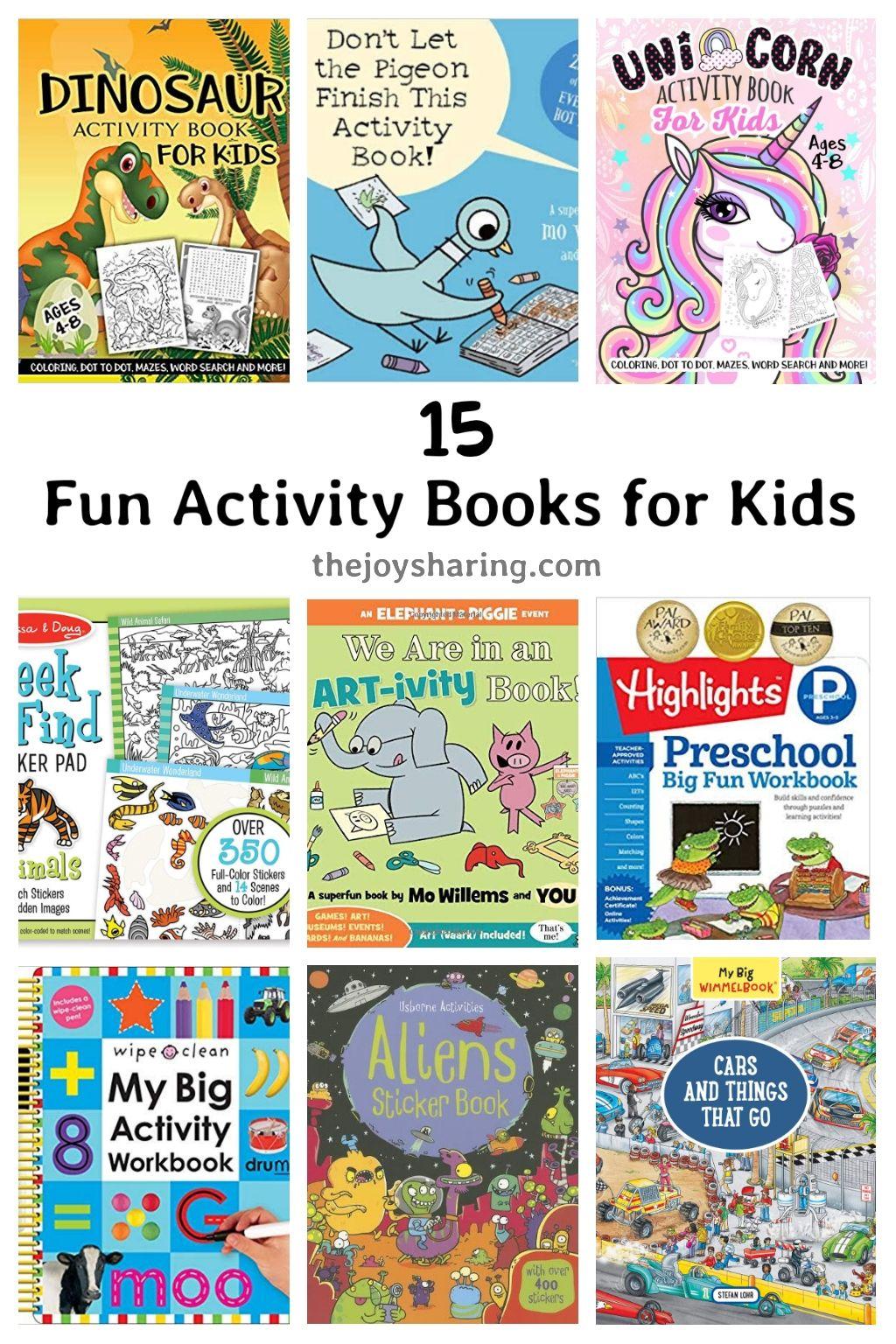 Best activity books for kids in 2020 book activities
