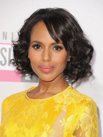 Kerry Washington 3 Curly Hair Styles Black Women