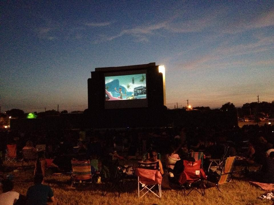 Movies return to the mission drivein theater in san