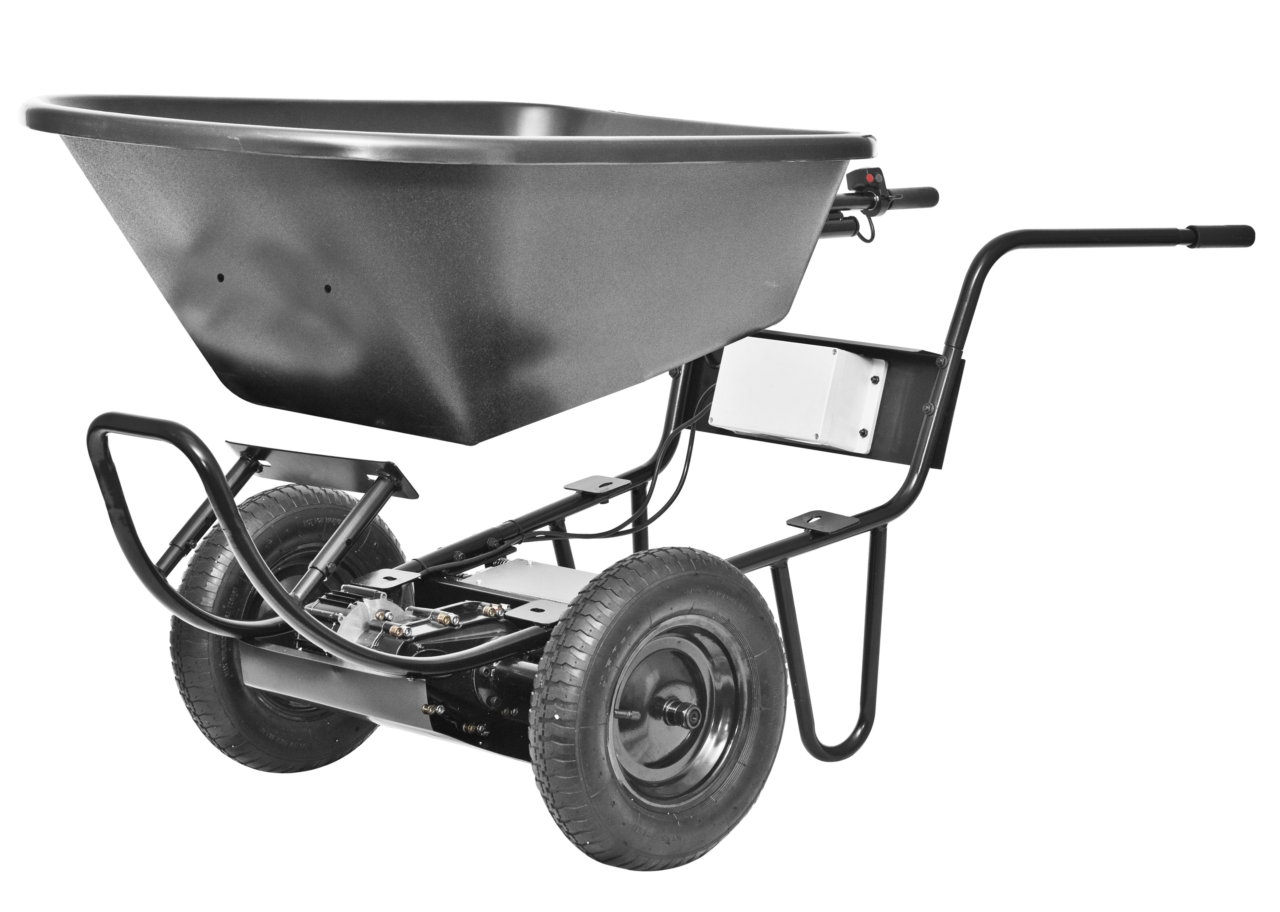 Easily Add A Tub To Your Paw Garden Cart Wheelbarrow Electric Wheelbarrow
