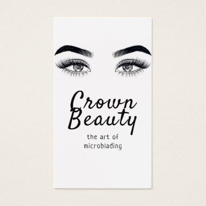 Modern microblading eyebrows permanent makeup pinterest weddings modern microblading eyebrows permanent makeup business card modern gifts cyo gift ideas personalize colourmoves