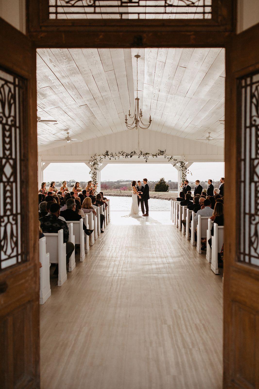 Modern wedding decor images  Spring Grand Ivory Dallas Ceremony Wedding Venue Modern Ceremony