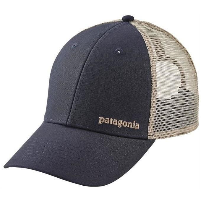 dbf1aa6dec918 Patagonia Men s Small Text Logo Lopro Trucker Hat