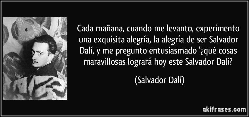 Salvador Dali Frases Buscar Con Google Dalí Salvador