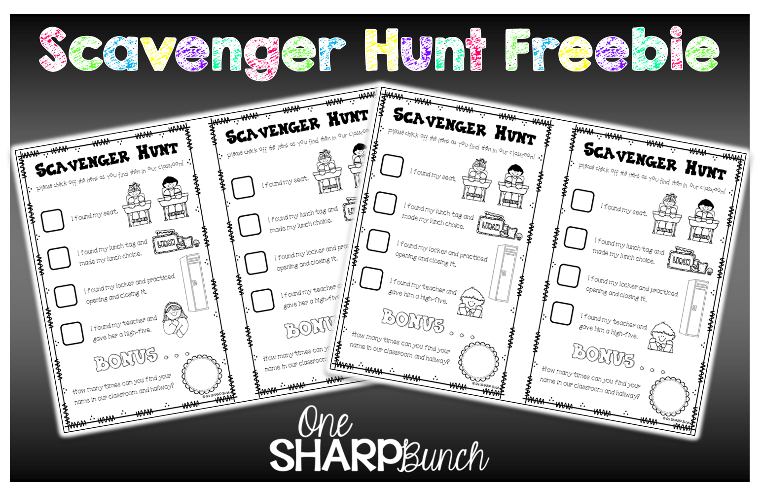 Free Open House Scavenger Hunt Your Kiddos Will Have So Much Fun Complet