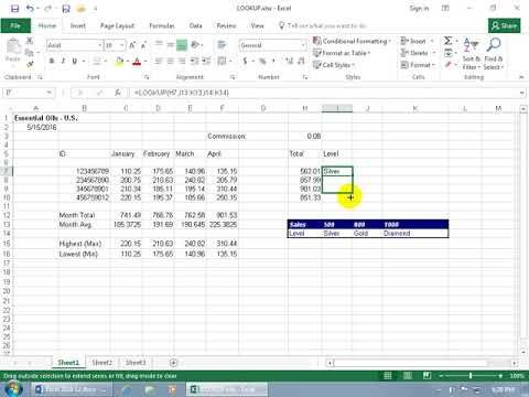 Have a huge table of data in Excel that you need to look up a value