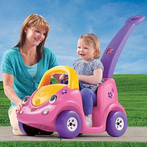 Step2 push around buggy ii ride on pink bikes riding toys explore pink bike easter gift and more negle Images