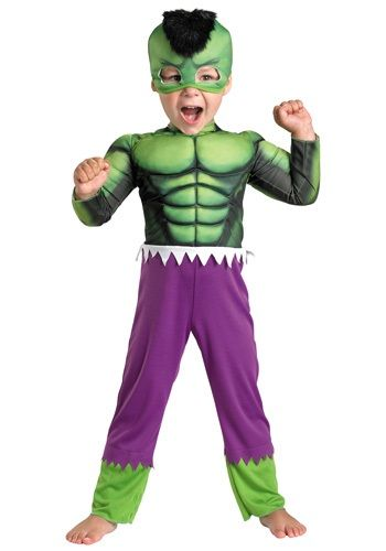 Toddler Hulk Muscle Costume  sc 1 st  Pinterest & Toddler Hulk Muscle Costume | holidays | Pinterest | Costumes ...