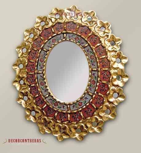 Artesania peruana decoracion espejos artesanias arte Marcos para espejos artesanales