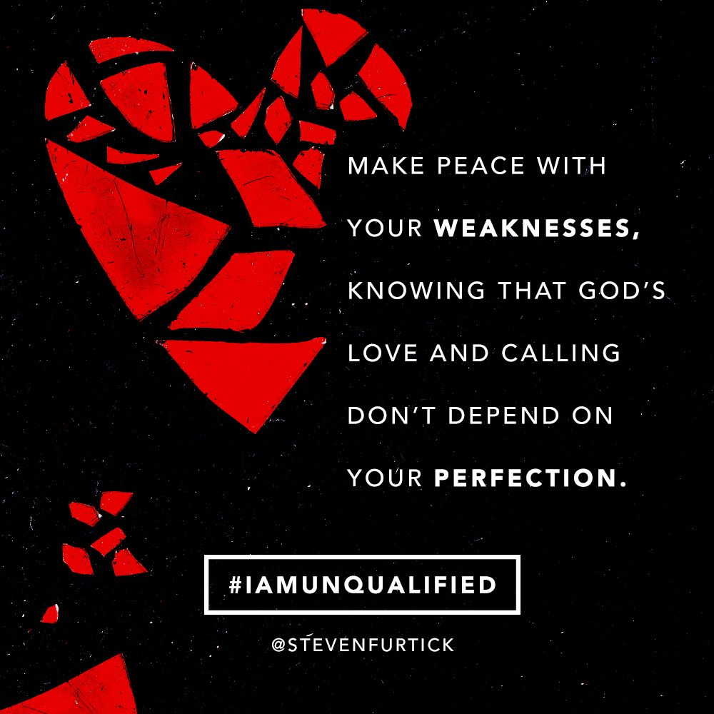 Pastor Steven Furtick, quote from the book (Un)Qualified